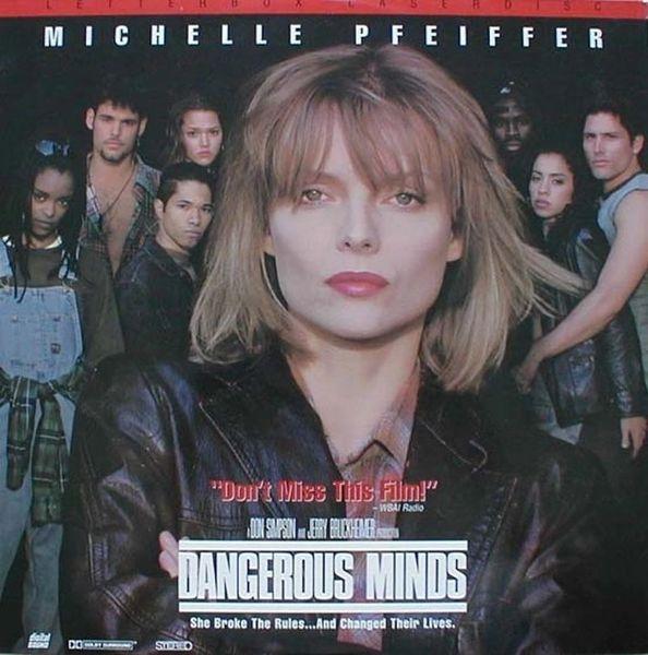 Dangerous Minds - Letterbox Laserdisc