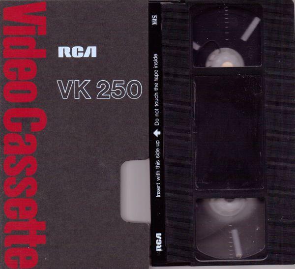 RCA VK 250 VHS Videotape (2-4-6 Hour)