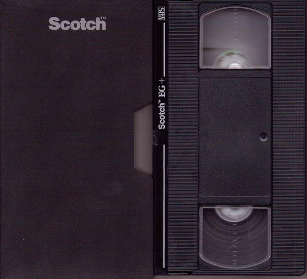Scotch 3M EG+ Grade VHS Videotape (2-4-6 Hour)