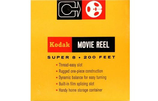 Kodak Super 8mm Movie Reel - 200 ft. (Limited Availability)