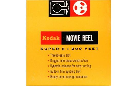 Kodak Super 8mm Movie Reel - 200 ft. (Limited Availability)