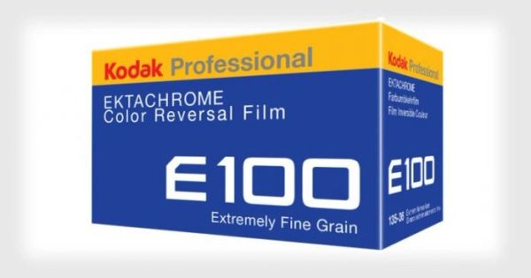 Kodak E100 35mm Color Reversal Slide Film 36 exposure (Re-Released by Popular Demand!)