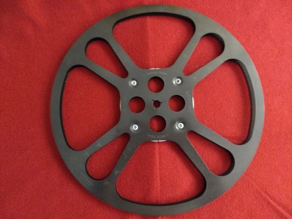 Goldberg Super 8mm 1600 ft Metal Movie Reel
