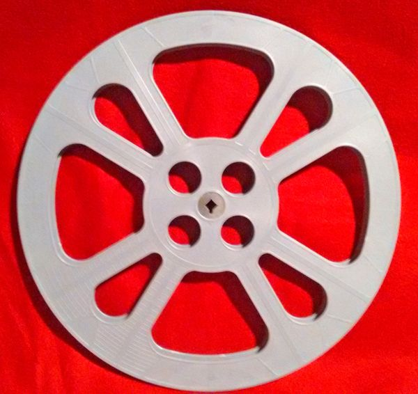 TayloReel 16mm 1600 ft. Plastic Movie Reel