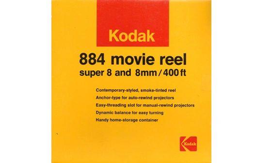 Kodak 884 Dual 8mm Movie Reel - 400 ft. (Limited Availability)