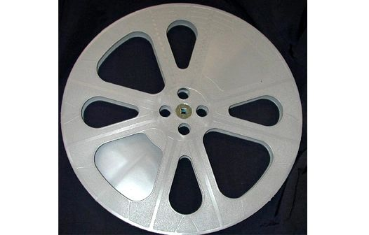 TayloReel 16mm 2300 ft. Plastic Movie Reel