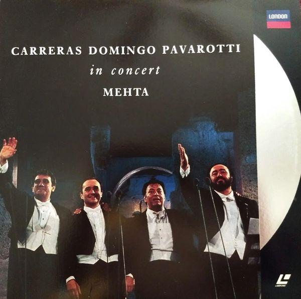Carreras Domingo Pavarotti in Concert - Laserdisc
