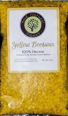 Yellow Organic Beeswax 14oz-Model-YOB-14