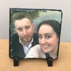 Square Printed Photo Slate (choice of size)