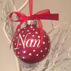 Nan Christmas Bauble