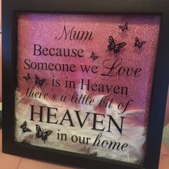 Extra Large Personalised Memorial Frame