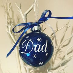 Dad Christmas Bauble