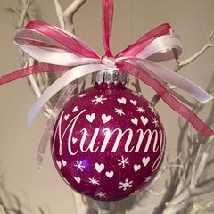 Mummy Christmas Bauble