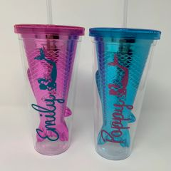 Personalised Mermaid Tumbler