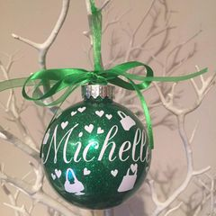 Beauty / Fashion Themed Bauble