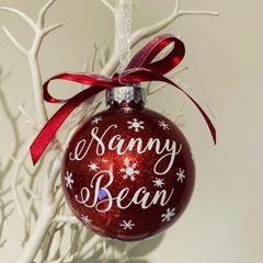 Nanny Christmas Bauble