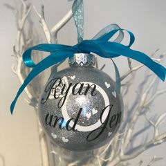 Ring Themed Personalised Bauble