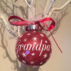 Grandpa Christmas Bauble