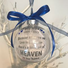 D2 Heaven Memorial Bauble