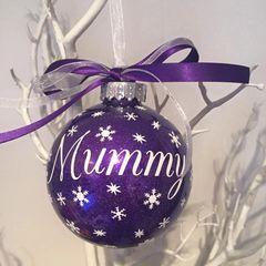 Mummy Christmas Bauble