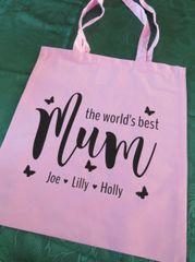 World's Best Mum Shopping Bag