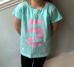 Personalised Kids Birthday Tshirt