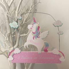 Personalised Unicorn Sign