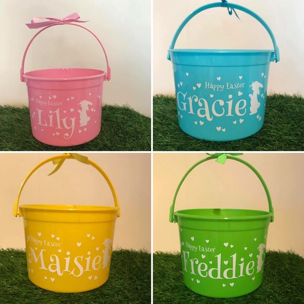 Easter Bucket (Choice of Colours)