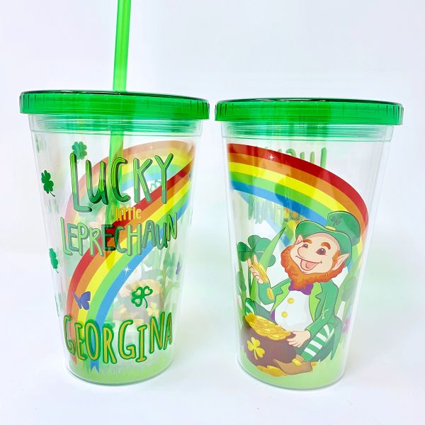 Personalised Leprechaun Tumbler