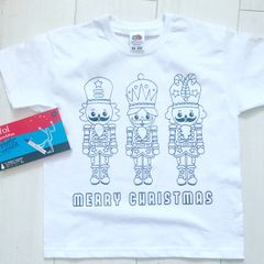 Nutcracker Personalised Colouring T'Shirt