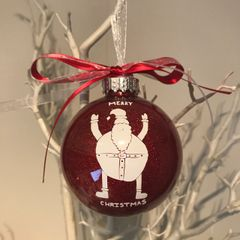 Your Childs Artwork on a Bauble