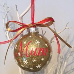Mum/Mummy/Mama Christmas Bauble