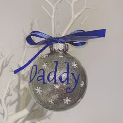 Daddy Christmas Bauble