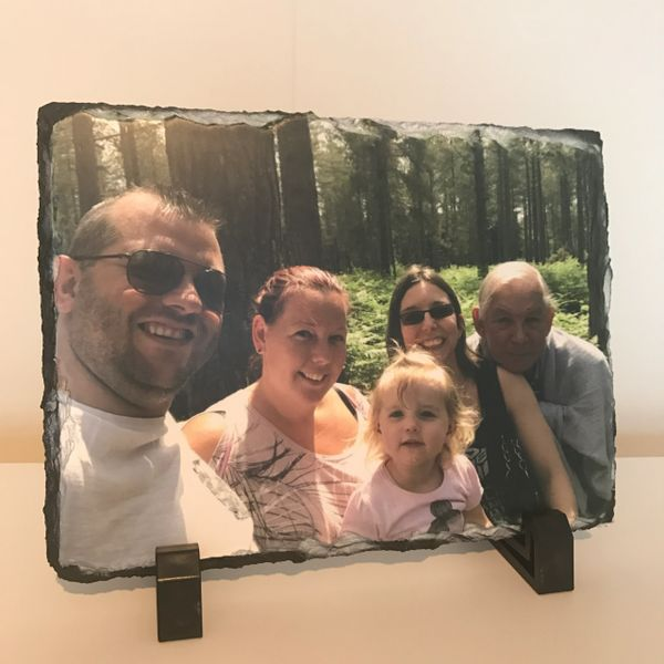 Rectangle Photo Slate (choice of sizes)