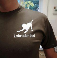 Labrador Dad Tshirt