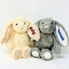 Personalised Bunny (Cream or Grey)