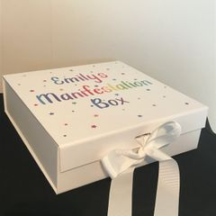 Personalised Manifestation Box (Choice of Colours)