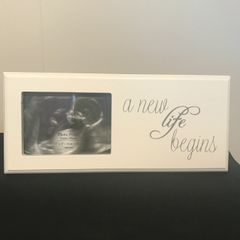 Scan Photo Frame - A New Life Begins