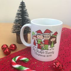 Personalised Family Mug (replicate your own family)