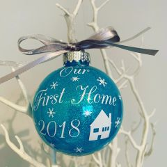 Our 1st Home Bauble
