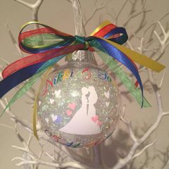 Same Sex Wedding Bauble