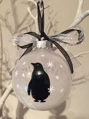 Penguin Themed Christmas Bauble