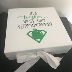 Super Power Teacher Box
