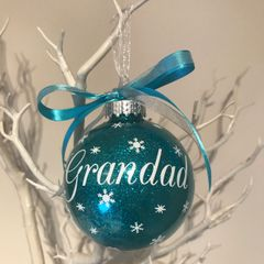 Grandad Christmas Bauble