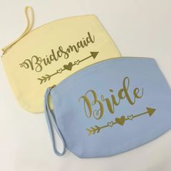 Wedding Party Accessory Bag (Various Colour and Size Choices)