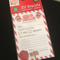 Elf report Cards
