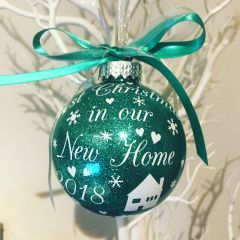 New Home Bauble
