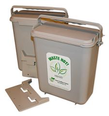 Molded Locking Lid Compost Unit