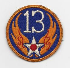 World War II 13th Army Air Corps patch
