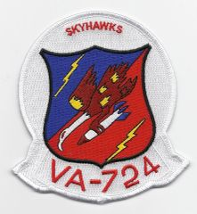 US Navy Attack Squadron VA-724 patch